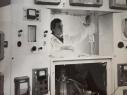 """Установка """"Гомеостат 1"""", 1972г., на фото И. Ясников"""